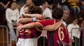 COLPO ESTERNO DELL'ITALCAVE CHE BATTE 4-3 LA LAZIO