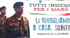 MARO': MASSIMILIANO LATORRE IN ITALIA FINO AL 15 LUGLIO