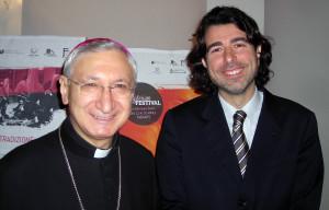 Mons-Santoro con Piero Romano