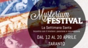 TUTTO PRONTO PER IL MYSTERIUM FESTIVAL