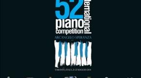 """52° INTERNATIONAL PIANO COMPETITION """"ARCANGELO SPERANZA"""": VERSO LA PREMIAZIONE!"""
