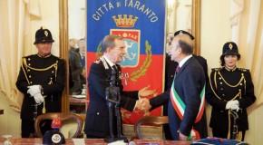TARANTO: CONFERITA LA CITTADINANZA ONORARIA DELLA CITTÀ ALL'ARMA