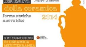"""MOSTRA DELLA CERAMICA 2014: """"FORME ANTICHE, NUOVE IDEE"""""""