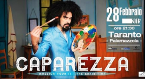 A TARANTO CAPAREZZA E IL MUSEICA TOUR II – THE EXHIBITION