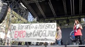"""IN DUECENTOMILA AL PRIMO MAGGIO TARANTINO DICONO """"NO"""" AI RICATTI OCCUPAZIONALI"""