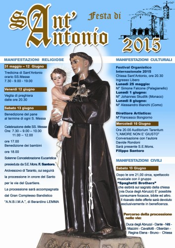 SANTANTONIO 2015 locandina