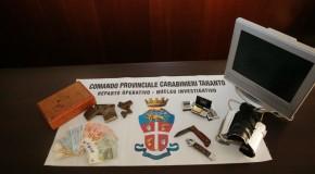 TARANTO: TELECAMERE A PROTEZIONE DELL'ATTIVITÀ DI SPACCIO, ARRESTATI DUE TARANTINI