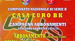 CASA EURO TARANTO: PARTE LA CAMPAGNA ABBONAMENTI