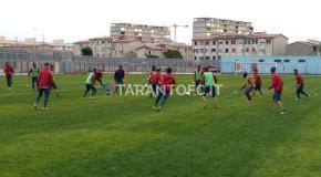 TARANTO FC: DOPPIO ALLENAMENTO PER I ROSSOBLU'