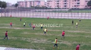 TARANTO FC: TEST INFRASETTIMANALE SOTTO LA PIOGGIA