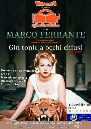locandina Aperitivo d'Autore con Marco Ferrante (1)