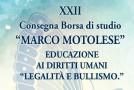 """XXII BORSA DI STUDIO """"MARCO MOTOLESE"""""""