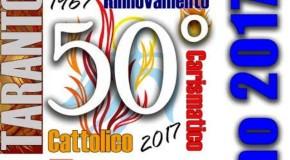 PER I 50 ANNI DEL RINNOVAMENTO CARISMATICO CATTOLICO GRANDE INCONTRO A TARANTO DI TUTTI I GRUPPI E COMUNITÀ